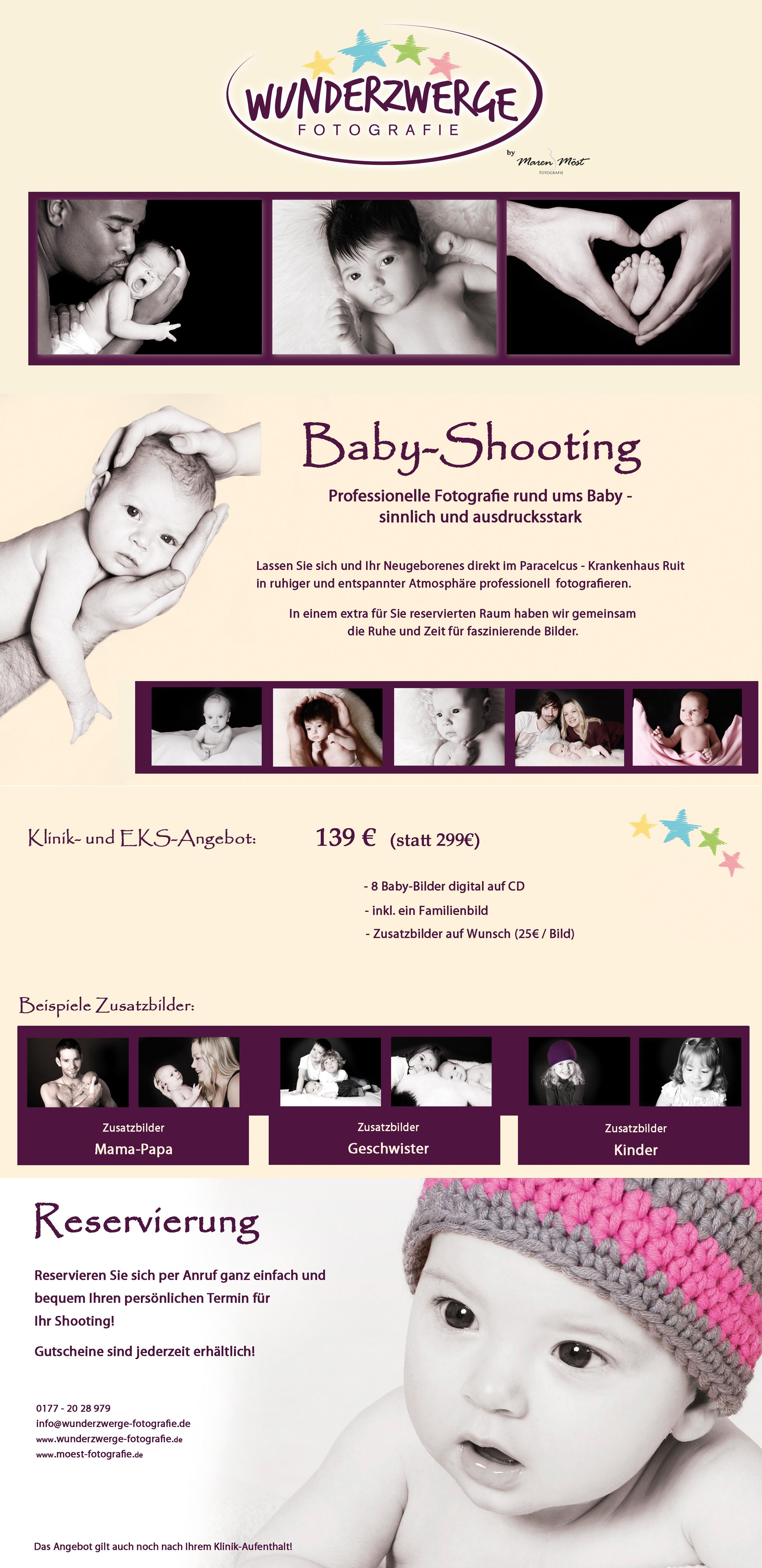 Wunderzwerge - Professionelle Fotografie rund ums Baby